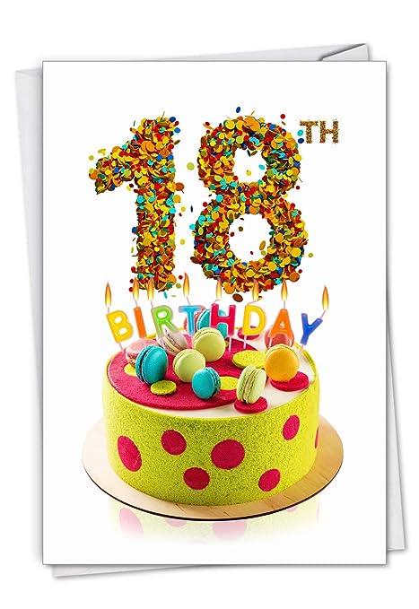 Amazon.com: Big Day 18: Tarjeta de felicitación de ...