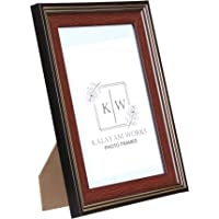 Kalayam Works Photo Frame I Size: 5 X 7 Inches I Marble Look Finish (KW125-5/1)