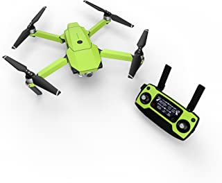 product image for Solid State Lime Decal for Drone DJI Mavic Pro Kit - Includes Drone Skin, Controller Skin and 3 Battery Skins