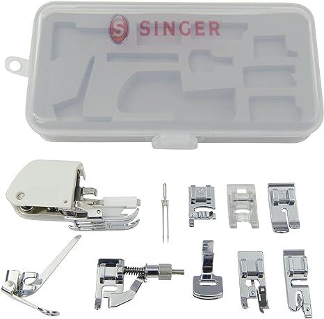 Singer Kit de Accesorios, Incluyendo 9 pies prensatelas, Aguja ...