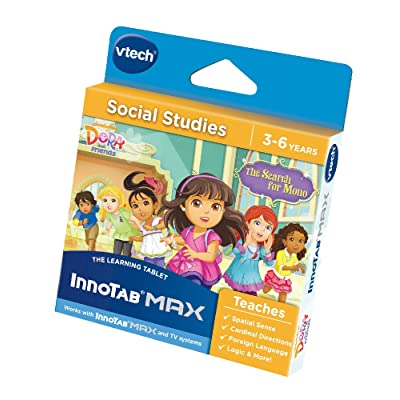 VTech Innotab and InnoTV Dora and Friends Electronic Toy: Toys & Games
