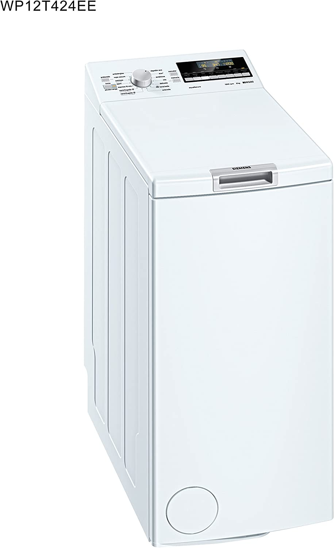 Siemens WP12T424EE - Lavadora De Carga Superior Wp12T424Ee De 6 Kg ...