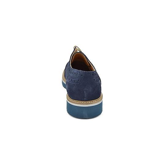 drudd EUCORY B - Derby Inglesina camoscio Blu su Fondo Eva Ultraleggero b47549bfe57