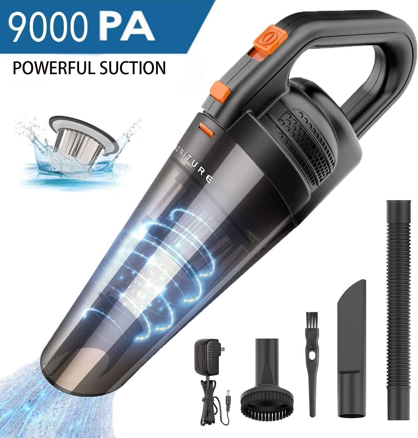 HONITURE Handheld Vacuum Cleaner Cordless,Rechargeable