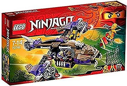 Amazon.com: Lego Ninja Go Anakon snake Copter 70746: Toys ...