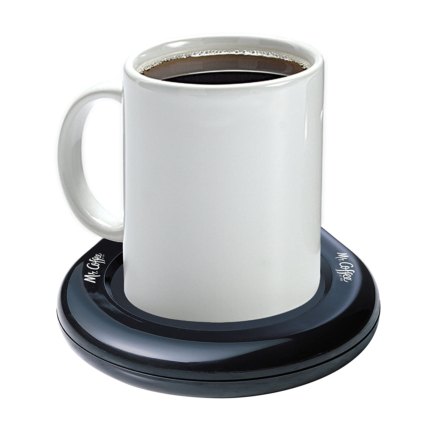 Mr. Coffee Mug Warmer for Office/Home Use, MWBLK