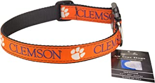 product image for All Star Dogs Clemson Tigers Ribbon Dog Collar