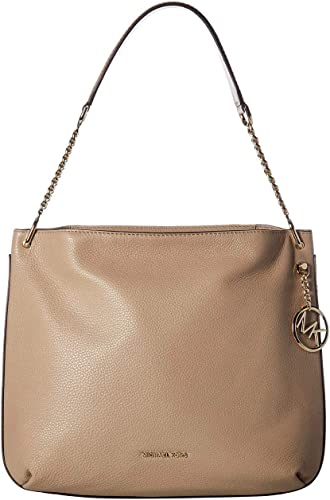 MICHAEL Michael Kors Lillie Large Zip Hobo Bag Truffle