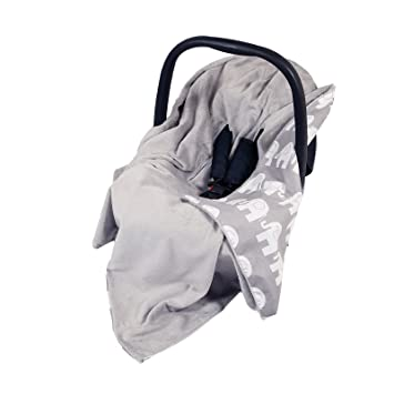 NEW DOUBLE SIDED BABY WRAP FOR CAR SEAT TRAVEL