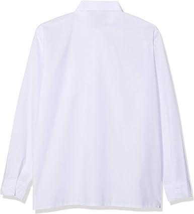 Niños Camisa Blanca Formal con Lazo y Manga Larga. Boda Bautizo ...