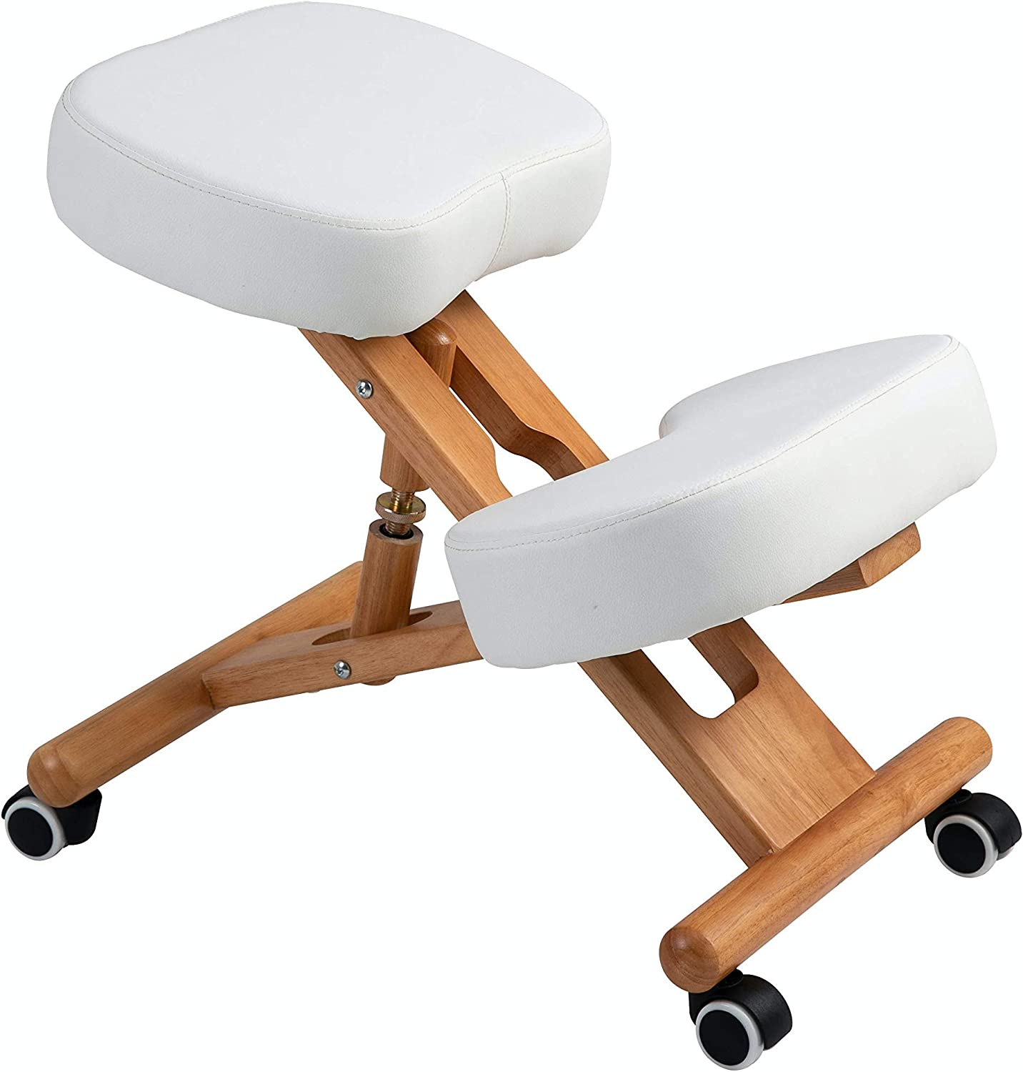 New! Dove (by Perfect Perch) - Beautiful Ergonomic Kneeling Chair, Adjustable Height with 3.5