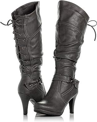 vegan high heel boots