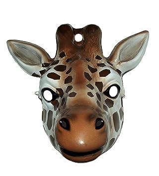 No concerne - i-3278 - Accesorio para disfraz - Máscara - Animal Jirafa: Amazon.es: Juguetes y juegos