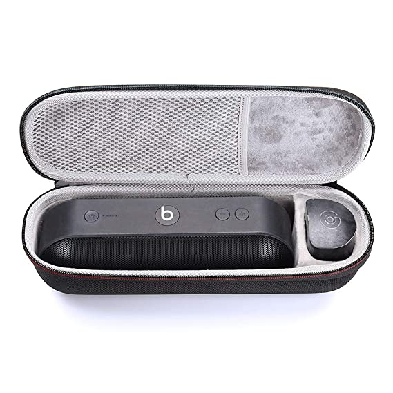 brand new eb37a 8c7c8 Hard Cover Case for Beats Pill+ Portable Speaker Storage Carrying Travel PU  Case Bag (Black)