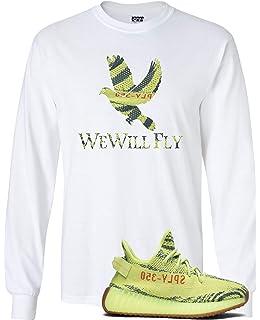 big sale f0c3e d0d1d We Will Fit Bird Shirt to Match The Adidas Yeezy Boost 350 V2 SEMI Frozen  Yellow