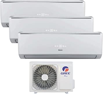Trio Split de aire acondicionado climática dispositivo 12 + 12 + ...