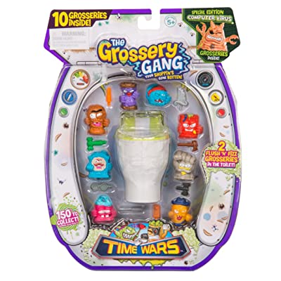 Grossery Gang The Time Wars Large Pack: Toys & Games