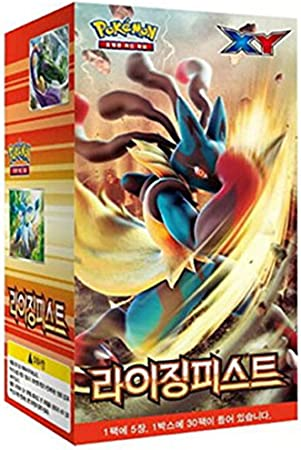 Pokemon Korea - Cartas de Pokémon XY, Caja de 30 boosters, edición Corea (Idioma: Coreano): Amazon.es: Juguetes y juegos