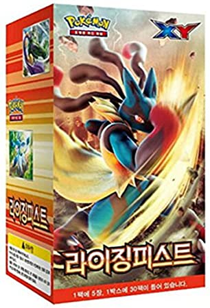 Pokemon Korea - Cartas de Pokémon XY, caja de 30 boosters ...