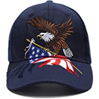 MAGA Hat Make America Great Again Donald Trump Slogan with USA Flag Cap Adjustable Baseball Hat All Cotton Made Unisex