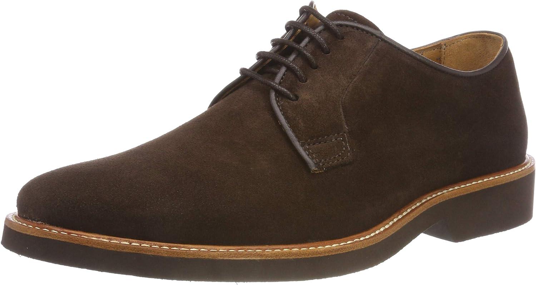 Sebago Suede, Zapatos de Cordones Derby para Hombre