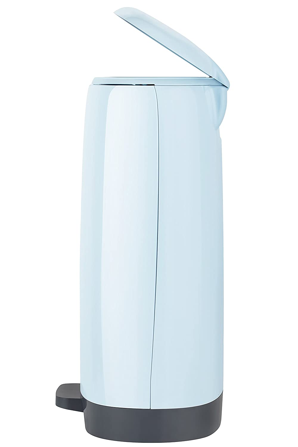 1125 Diaper Count Vliba Diaper Pail - Free Bags Includes up to 6 Months Supply of Refill Bags Baby Blue