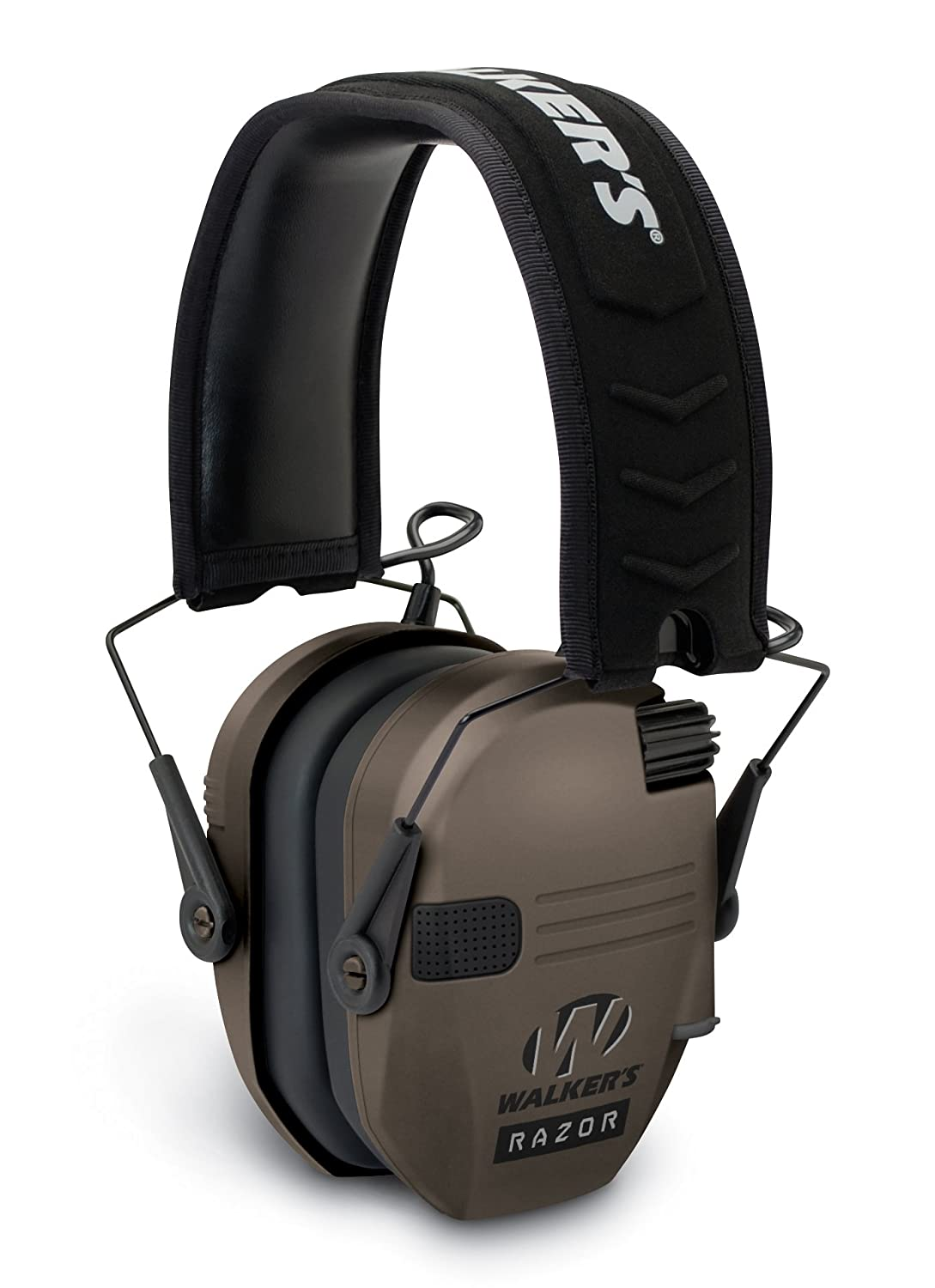 "Walker's Razor Slim Electronic Hearing Protection Muffs with Sound Amplification and Suppression. ""Protect It Or Lose It!"""