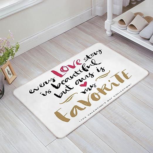 com indoor doormat stylish welcome mat quotes every love