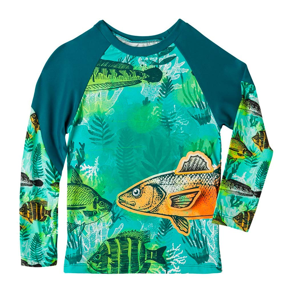 4ff45e23ee OFFCORSS Toddler Boy Long Sleeve Rashguard Swimsuit | Trajes de Baño para  Niños: Amazon.ca: Clothing & Accessories