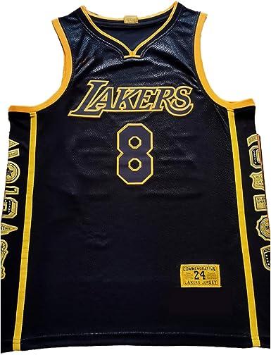 NBNB Mamba - Camiseta de baloncesto para hombre Los Angeles ...
