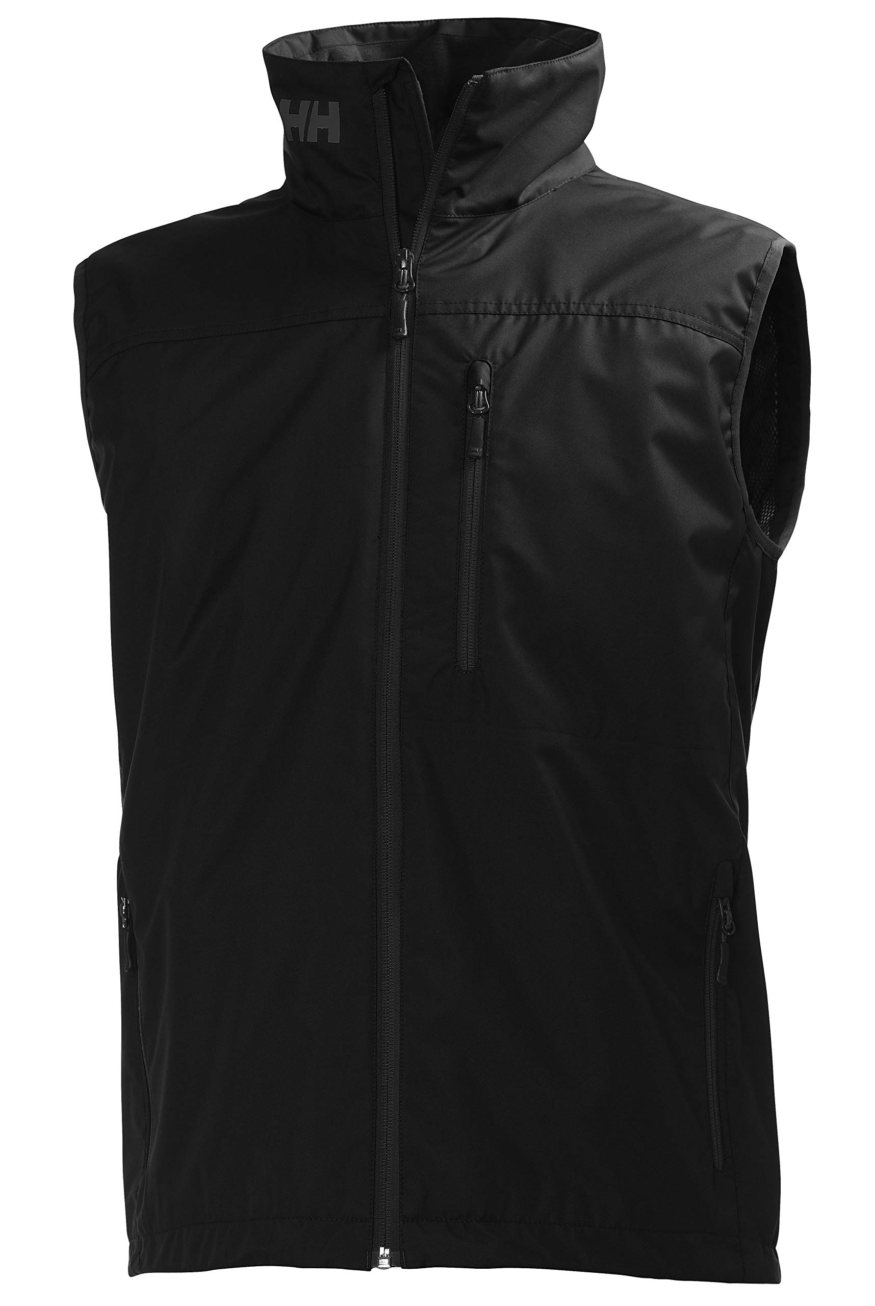 Helly Hansen Men's Crew Vest Waterproof, Windproof, & Breathable Sailing Vest, 990 Black, X-Large by Helly Hansen