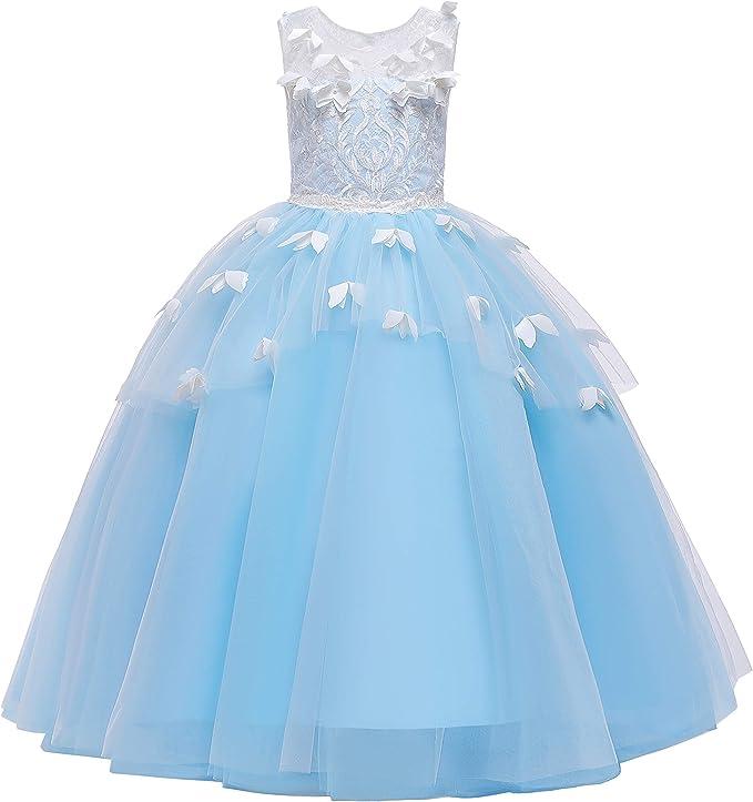 ELSA & ANNA® Princesa Disfraz Traje Parte Las Niñas Vestido de ...