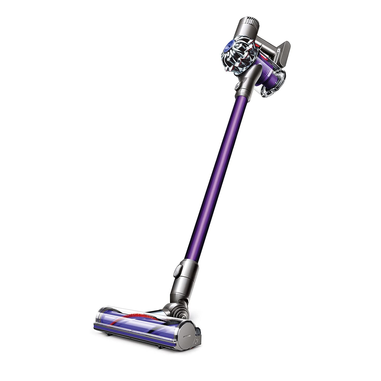dyson v6 animal cordless vacuum purple silver brand new v6animal1 885609004808 ebay. Black Bedroom Furniture Sets. Home Design Ideas
