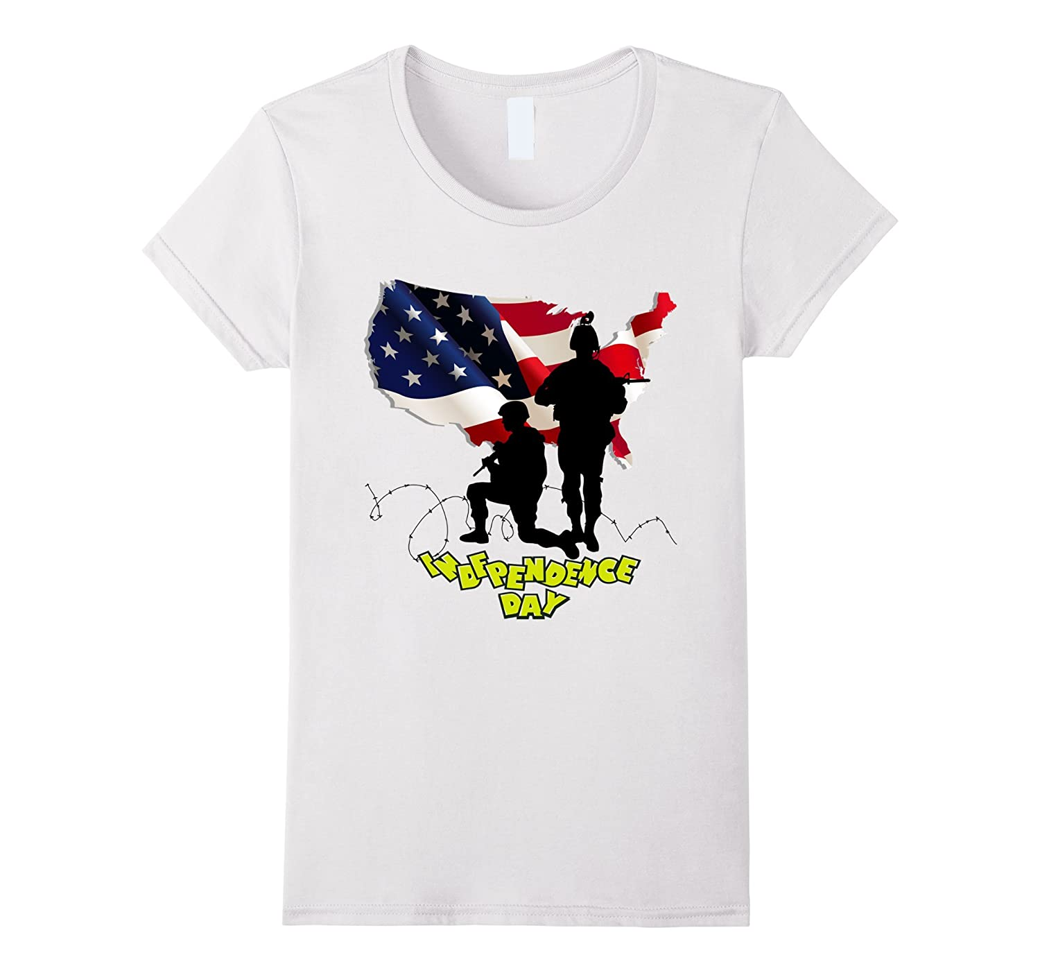 Thank you Veterans DAD for Independence day T-Shirt