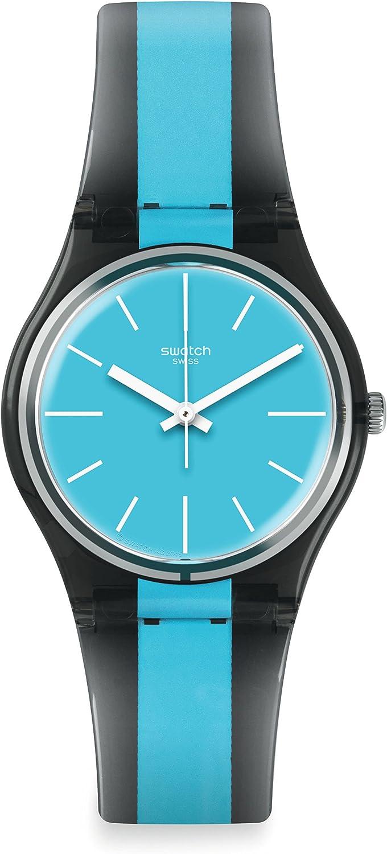 Swatch Reloj Digital para Hombre de Cuarzo con Correa en Plástico GM186