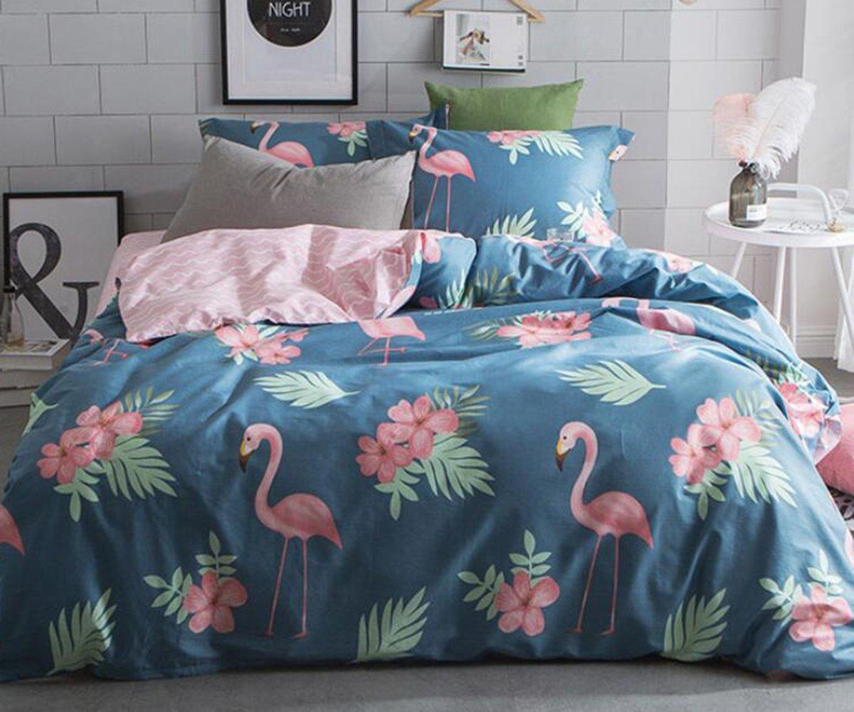flamingo bedding