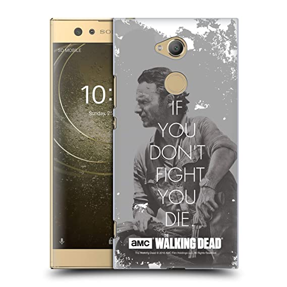 Amazon Official AMC The Walking Dead Rick Fight Quotes Hard Awesome Slam Metal Quotes