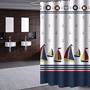 HQLCX-Shower curtain Cortinas De Ducha Mampara Baño Cortina ...