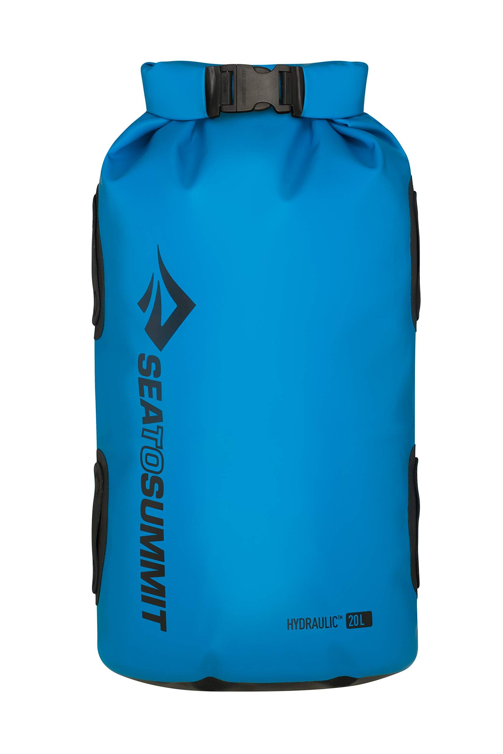 Sea to Summit Hydraulic Dry Bag, Blue, 20 Liter by Sea to Summit
