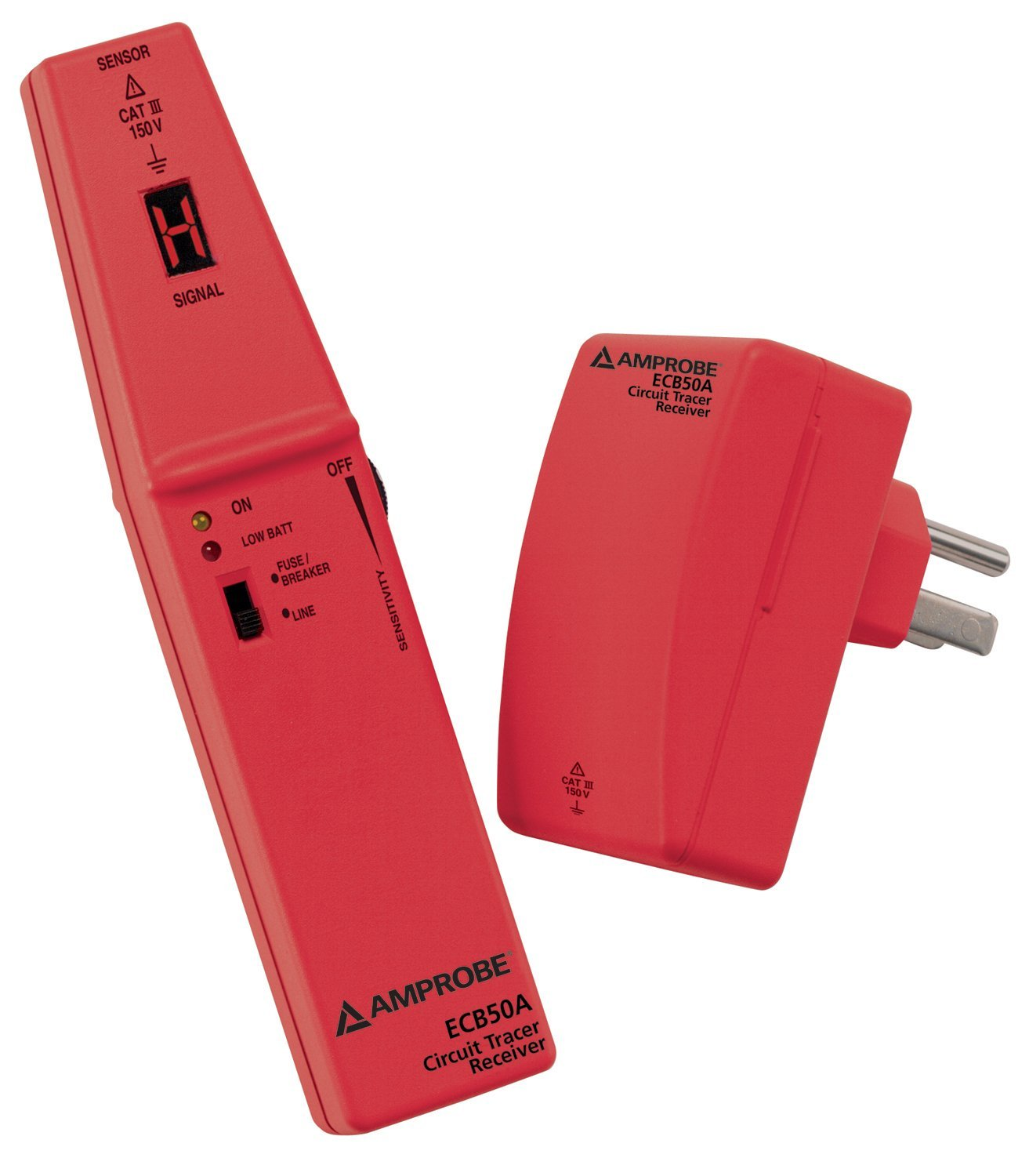 Amprobe Ecb50a Circuit Breaker Finder Electrical Tracer Pyle Phct205 Network Cable Tester W Utp Ftp Bnc Coaxial Short Home Improvement
