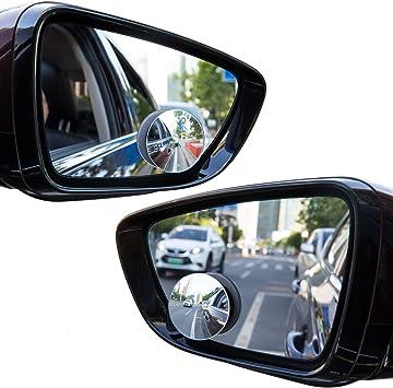 Utopicar Frameless Stick-on Blind Spot Car Mirrors 2 Pack