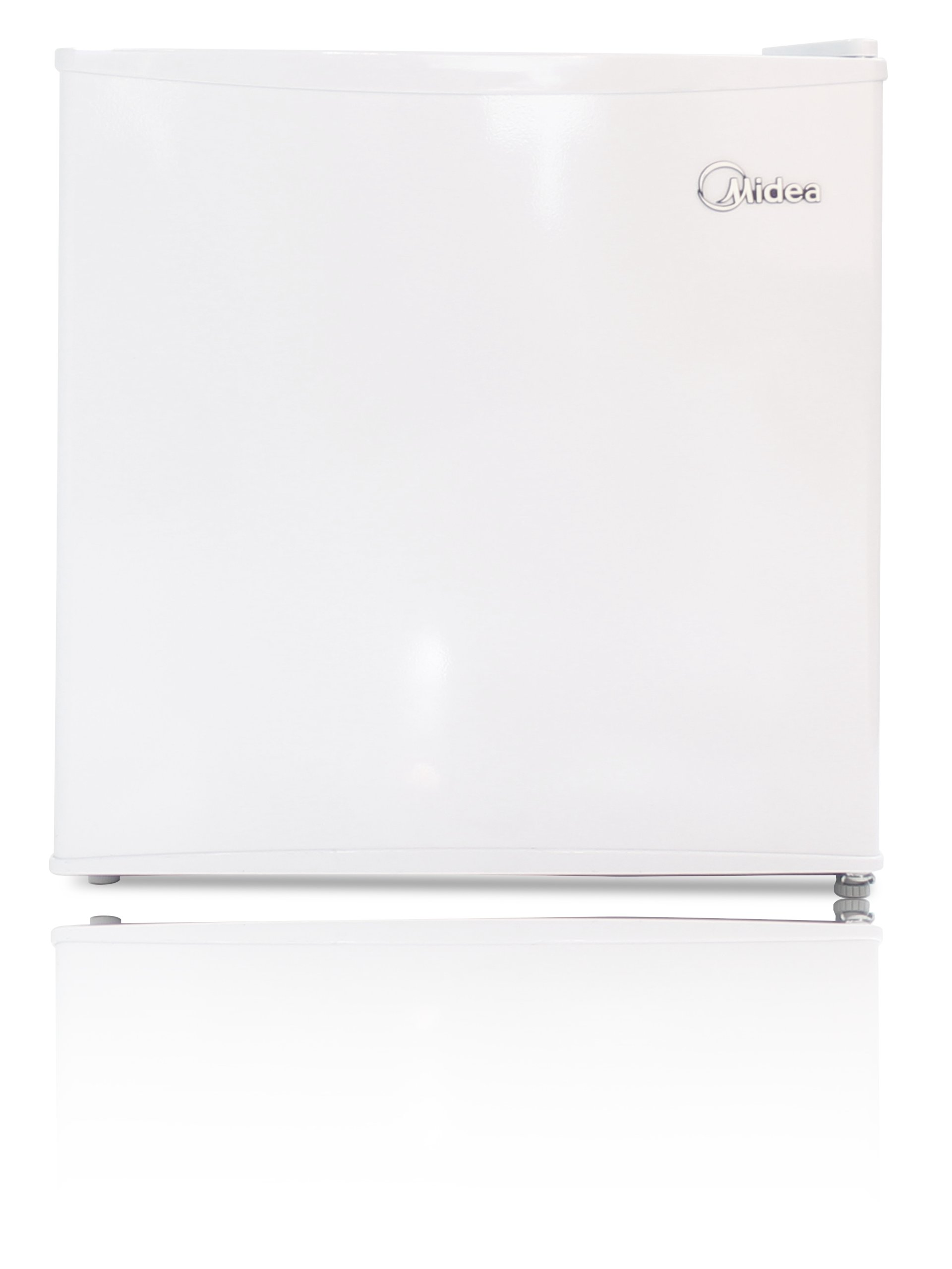 Midea WHS-52FW1 Compact Single Reversible Door Upright Freezer, 1.1 Cubic Feet, White