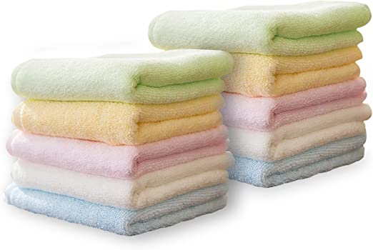 bamboo face towels