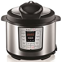 Instant Pot IP-LUX80 8 Qt 6-in-1 Programmable Pressure Cooker Open Box