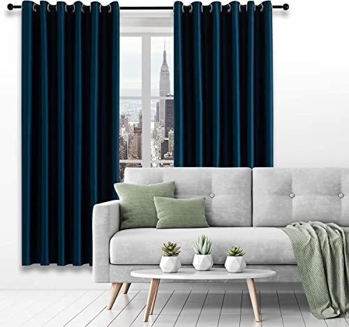 VEGA U Blackout Curtains Glossy Series