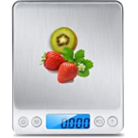 TSEC Kitchen Scale Premium Healthy Digital Pocket Food Scale Jewelry Scale Durable Premium Stainless Steel Platform with…