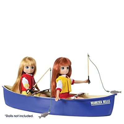 Lottie Doll Playset Toy Canoe Adventure Set | Doll Boat | Doll Fishing Play Set | Doll Canoe: Toys & Games