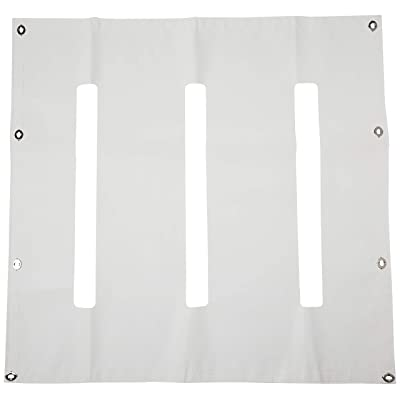 Belmor WF-64080-1 White Winterfront Truck Grille Cover for 1984-2020 Kenworth W900L: Automotive