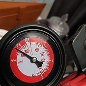 Cozywind purgeur de Frein Voiture Pompe /à D/épression Jauge de Pression Appareil de Test 0-20 Bar ou 0-300 psi Compression M/ètre avec /étui pour Voiture Outil Manuelle Coffret Rouge