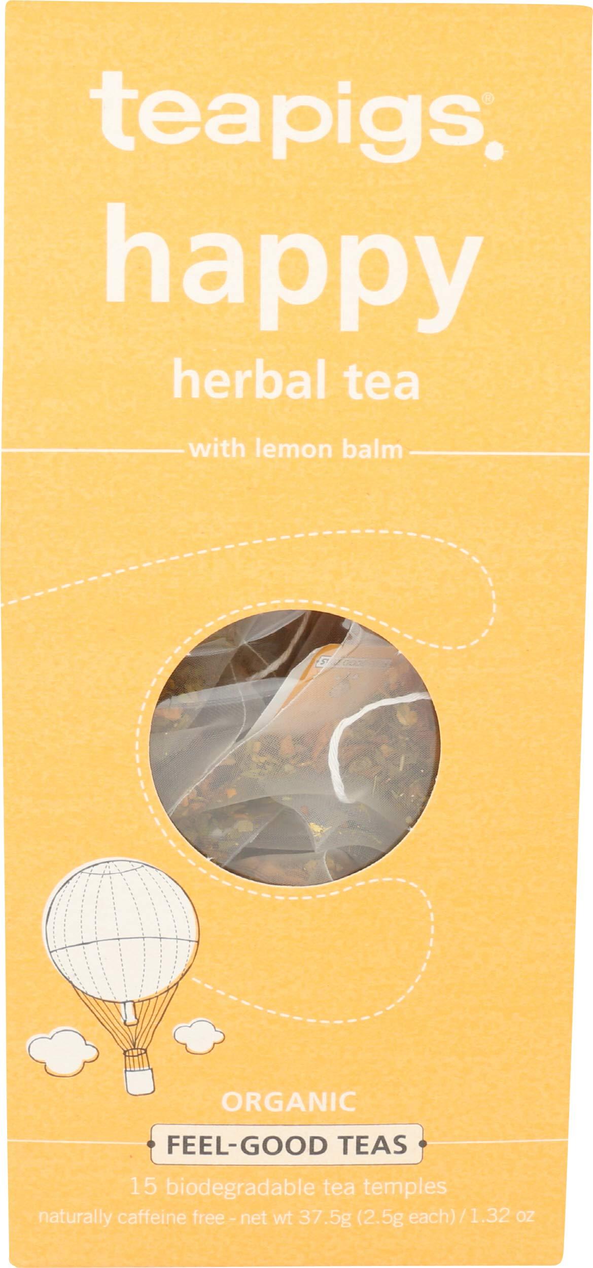 Teapigs, Tea Happy Organic, 15 Count